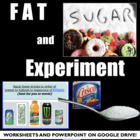 Fat and Sugar Nutrition Lab: An Experiment Lesson for Heal
