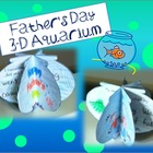 Father's Day 3-D Aquarium: a writing craftivity