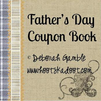 Father's Day Coupon Book Printables