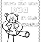 "Father's Day Craftivity and Gift Book ""I Have the Best Dad"