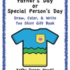Father's Day Draw, Color, & Write Tee Shirt Gift Book