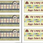 Father's Day Lolly Bag Toppers and Cards
