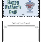 Father's Day Mini Book Activity