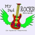 Father's Day Writing Activity {Rock and Roll theme}