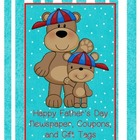 Father&#039;s Day Newspaper, Coupons, and Gift Tags