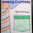 Father's Day Note in Shirt Pocket Writing Craftivity