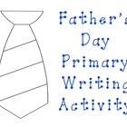 Father&#039;s Day Primary Writing Activity