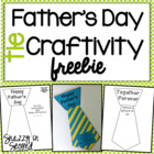 Father's Day Tie Craftivity Freebie