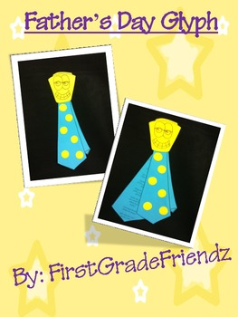 Father's Day Tie Glyph Craftivity