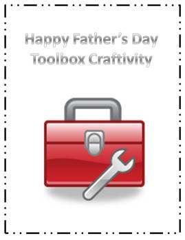 Father's Day Toolbox Craftivity