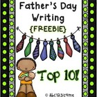 Father's Day Writing- Top 10 Reasons for Why I Love my Dad