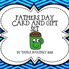 Fathers Day card and gift set