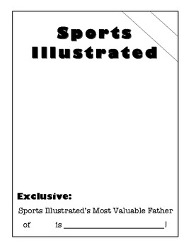 Father's day Sports Illustrated MVF Magazine