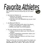 Favorite Athlete Project