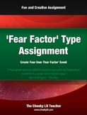 'Fear Factor' Event Creation Assignment