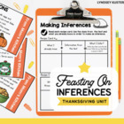 Feasting on Inferences {A Thanksgiving Packet About Making
