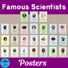 Featured Scientist 24 large and 24 small Posters