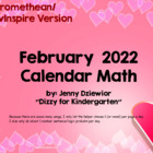 February 2014 Calendar Math for the Promethean Board