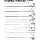 February Adjective Worksheets** FREE
