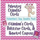 February Calendar Cards &amp; Classroom Management Packet