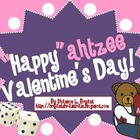 "February Dice Game (""Happy""ahtzee Valentine's Day!)"