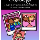 February Fluency Building Poems {Common Core Aligned}