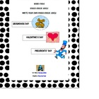 February Holiday Packet