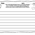 February Holidays Writing and Comprehension Packet