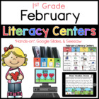 February Literacy Menu First Grade