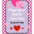 February Math Centers - CC Aligned