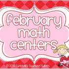 February Math Centers
