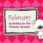 February Math & Literacy: Valentine, Black History, Ground