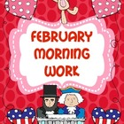 February Morning Work (Common Core Alligned)