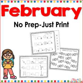 no prep just print for February