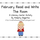February Read and Write the Room 