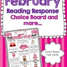 February Reading Response Choice Board