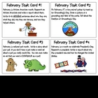 February Task Cards