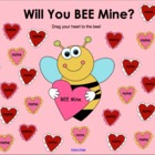"February Valentine's Day ""BEE Mine"" SMART Board Attendance"