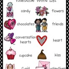February Word List and Word Wall Cards
