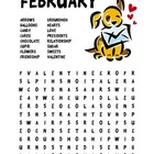 February Word Search