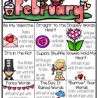 February Word Work Choice Board