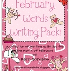 February Words Writing Pack!