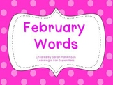 February Words
