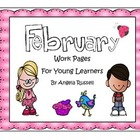 February Work Pages For Young Learners