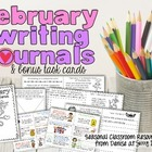 February Writing Center Task Cards