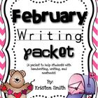 February Writing- helping students with handwriting and wr