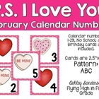 February calendar days