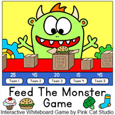 Feed The Monster  - Interactive Whiteboard whole class gam