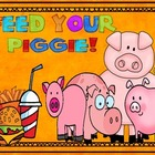 Feed Your Little Piggie (Number Recognition to 50)