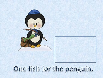 Feed the Penguin Counting Mats and Emergent Reader